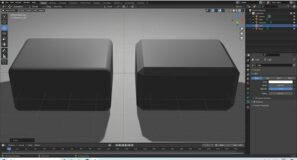 Blender 2.92 Tutorial: How To Create A Rectangle With Equal Sized Bevelled Or Curved Edges.