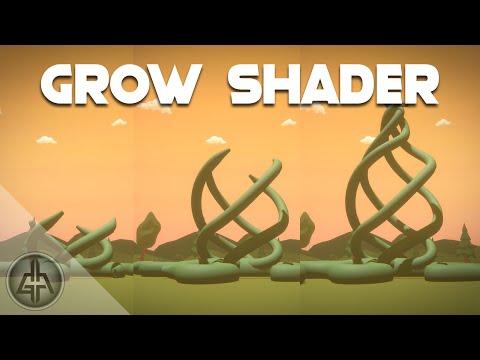 Unity Shader Graph – Grow Vines | Trees Tutorial