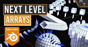 Advanced Arrays, Instancing & Curves| Learn Blender 2.9+ Through Precision Modeling | Part- 28