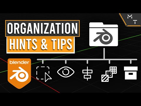 How To Organize In Blender 2.9+  | Learn Through Precision Modeling | Part- 29