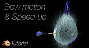 [2.92] Blender Tutorial: How to Speed Up and Slow Down Animations