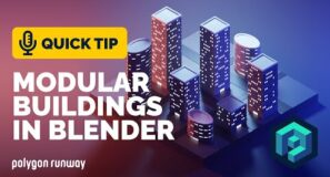Modular Buildings Tutorial in Blender 2.92