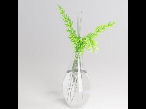 speed modeling a plant in blender