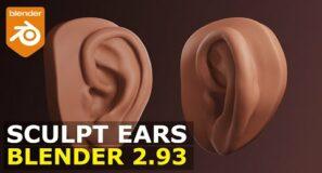 Sculpt Ears | EASY Blender Tutorial