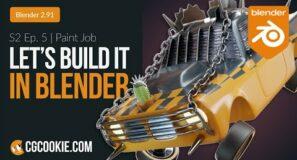 Texturing a Car in Blender 2.91 | Let's Build It In Blender – Season 2 Finale