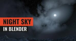 Making a Night Sky in Blender