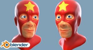 Super Hero Character Sculpt in Blender (Beginner Tutorial)