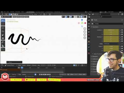 GREASE PENCIL GOODIES! | Blender.Today LIVE #150