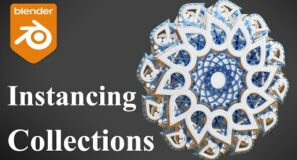Blender Tutorial – Full Guide to Instancing Collections!