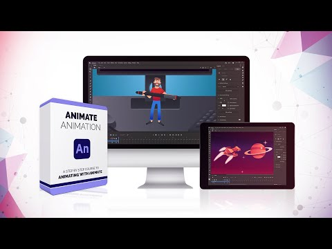 Animate Animation course [NEW] 39 video lessons