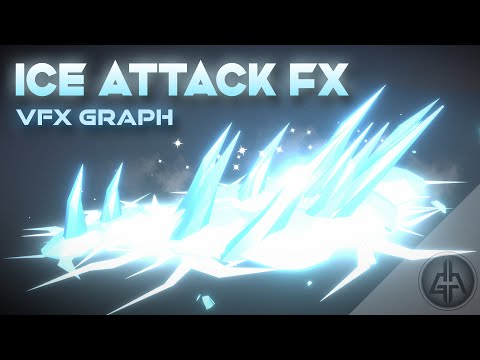 Unity VFX Graph – Ice Attack Tutorial