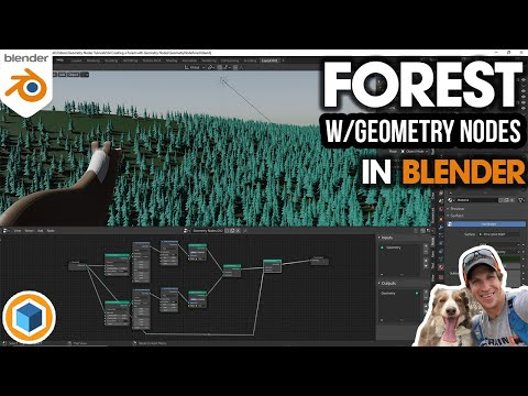 Creating a FOREST with Geometry Nodes in Blender!