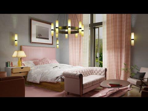 interior design in blender