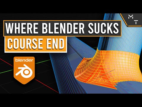 What Blender Sucks at.. & Where Now | The End Of Learning Blender 2.9+ Through Precision Modeling |