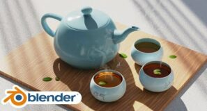 Photorealistic Tea Scene (Blender Tutorial)