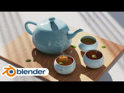 Photorealistic Tea Scene (Blender Tutorial)