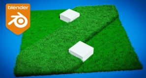 Blender Tutorial – Cutting Grass Animation