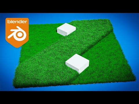 Blender Tutorial – Cutting Grass Animation