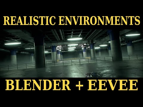 Creating Realistic Environments with Blender | Course Trailer + First Lesson