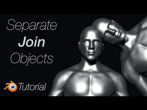 [2.92] Blender Tutorial: Join and Separate Objects