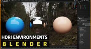 HDRI Environments   Beginners Guide   Blender