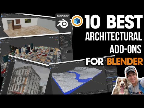 The TOP 10 BEST Add-Ons for Architectural Modeling in Blender!