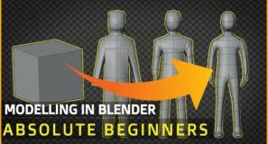 MODELLING For Absolute Beginners | Blender  Human Tutorial