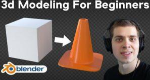 3d Modeling for Beginners (Blender Tutorial)