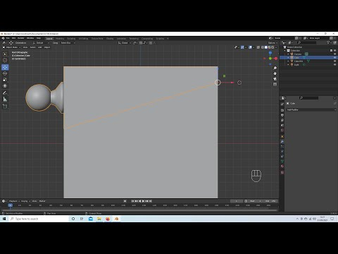 Blender 2.92 Tutorial: How To Recenter Or Reposition The Cursor/Axis And Origin/Pivot Positions.