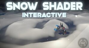 Unity Shader Graph – Snow Interactive Effect Tutorial