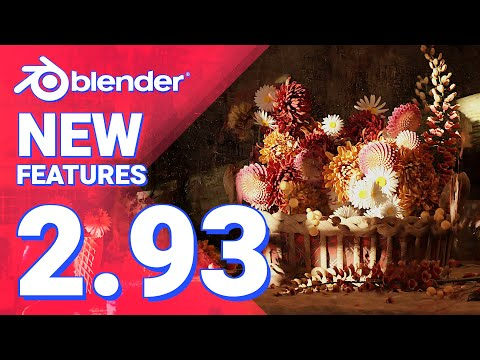 New Features in Blender 2.93 LTS in LESS than 5 minutes