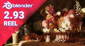 Blender 2.93 LTS – Features Reel and Showcase