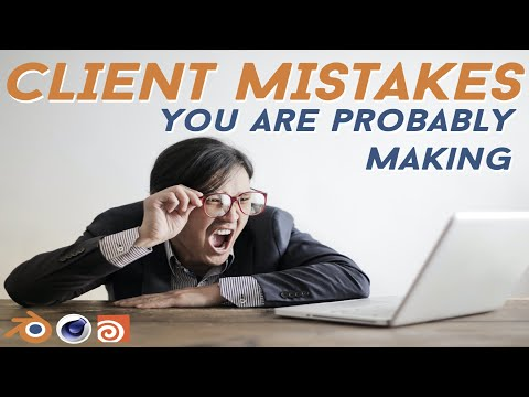 10 Mistakes You're Making With Your Commission Clients (Blender 3D)