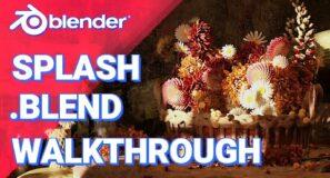 Blender 2.93 Splash Walk-through