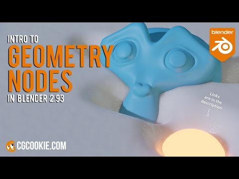 The Ultimate Intro To Geometry Nodes – Blender 2.93 Tutorial