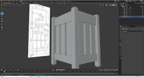 Blender 2.92 Tutorial: How To Make A 3d Model Using An Image Or A Plan As A Reference.