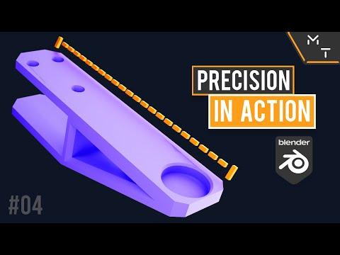 3D Printed Desk Extension For My 3D Printer | Blender 2.9 Precision Modeling In Action | 04