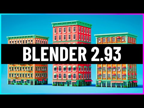 Blender 2.93 – 21 Years in the Making!