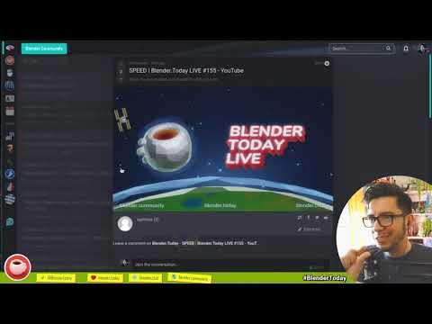 SPEED   Blender.Today LIVE #155