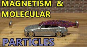 Magnetism & Molecular Particles – Blender