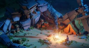 """Cubic Worlds """"Campfire"""" (Blender Low Poly Animation)"""