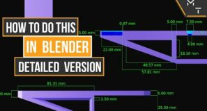 Detailed Version Of How To Create A Technical Drawing In Blender 2.9+
