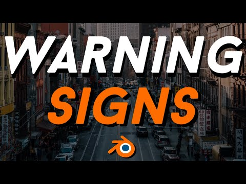 6 WARNING SIGNS OF INAUTHENTICITY (BLENDER 3D)