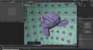 08 blender tips   how to spawn objects from other objects