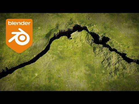 Blender Tutorial – Procedural Cracked Earth Effect