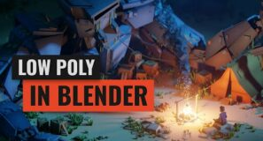 Cubic Worlds – Low Poly Animation Course for Blender