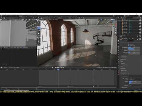 14 blender tip   how to animate and adjust exposure in blender