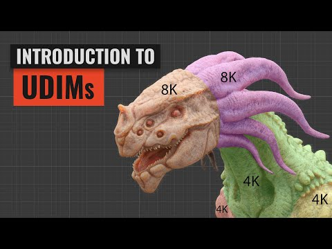 Introduction to UDIMs in Blender