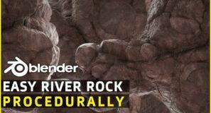 Fully Procedural Rock   Easy Beginners   Blender