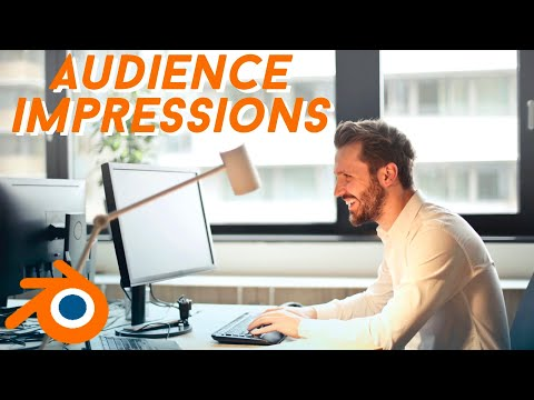 6 WAYS TO IMPRESS YOUR AUDIENCE (BLENDER 3D)